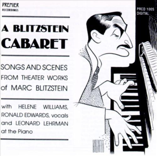 Blitzstein Cabaret