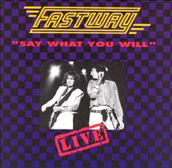 Say What You Will: Live