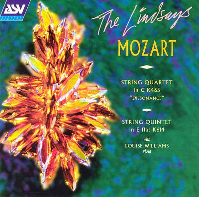 "Mozart: String Quartet in C K465 ""Dissonance""; String Quintet in E flat K614"