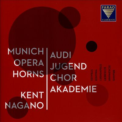 Audi Jugendcorakademie: Brahms, Schumann, Schubert, Strawinsky, Etc.