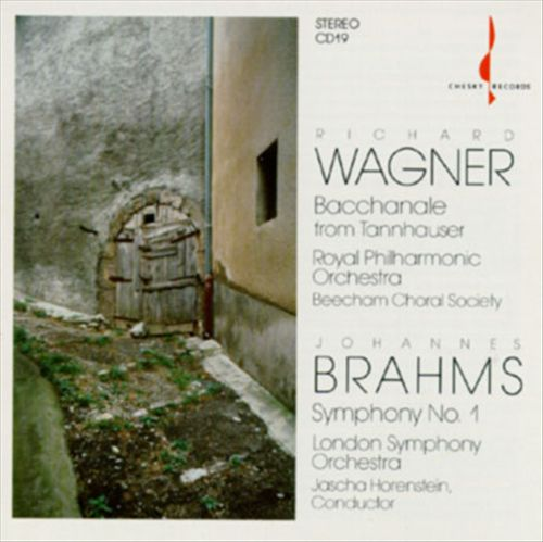 Wagner: Bacchanale; Brahms: Symphony No. 1