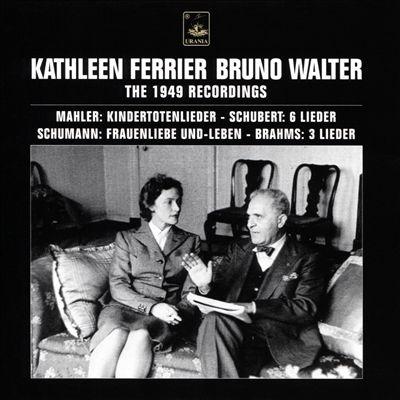 Mahler: Kindertotenlieder; Schubert: 6 Lieder; Schumann: Frauenliebe und -Leben; Brahms: 3 Lieder