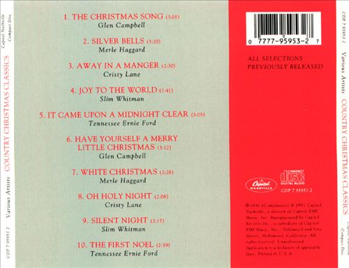 Country Christmas Classics [Capitol]