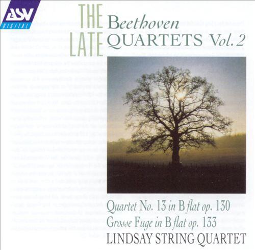 Beethoven: The Late Quartets, Vol. 2