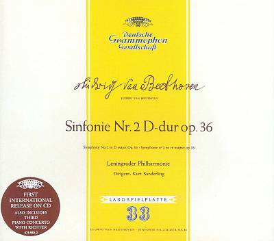 Beethoven: Sinfonie Nr. 2 D-dur, Op. 36