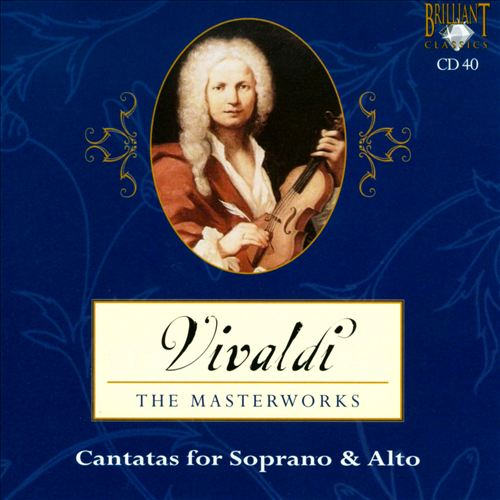 Vivaldi: Cantatas for Soprano & Alto
