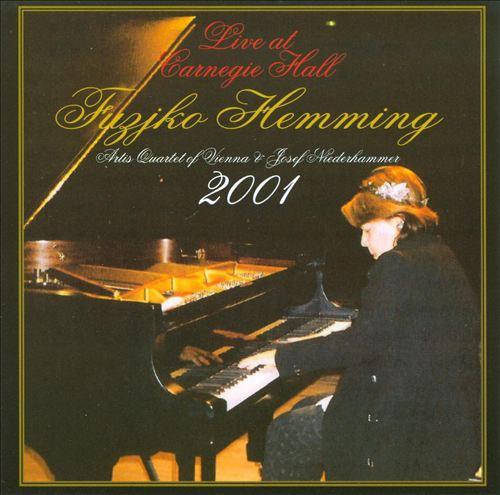 Fujiko Hemming Live at Carnegie Hall