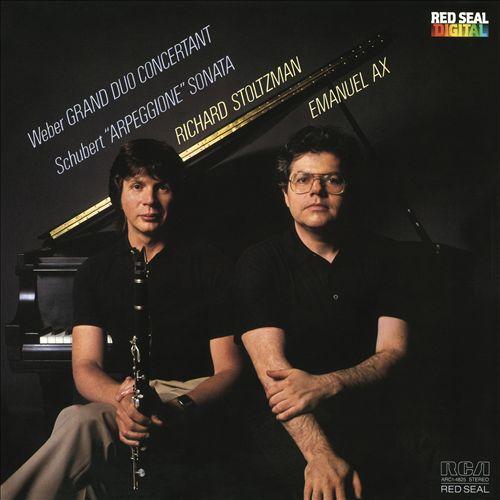 """Weber: Grand Duo Concertant; Schubert: """"Arpeggione"""" Sonata"""