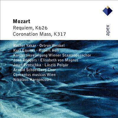 """Mozart: Requiem; Mass No. 16 """"Coronation"""""""