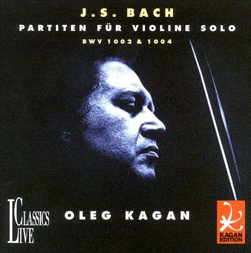 Bach: Violin Partitas 1 & 2