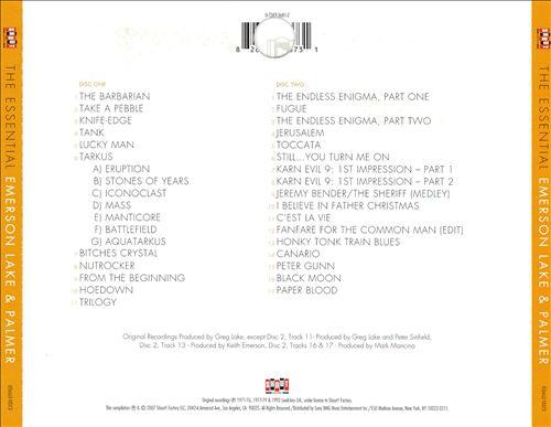 The Essential Emerson, Lake & Palmer