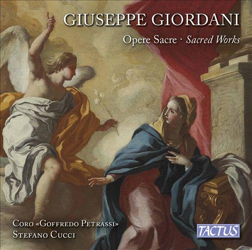 Giuseppe Gioradani: Opere Sacre (Sacred Works)