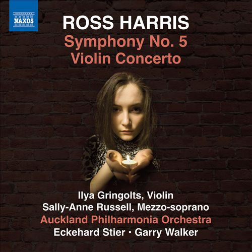 Ross Harris: Symphony No. 5; Violin Concerto
