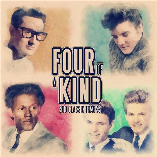 Four of a Kind: 200 Classic Songs (From Elvis Presley, The Everly Brothers, Buddy Holly and Chuck Berry)