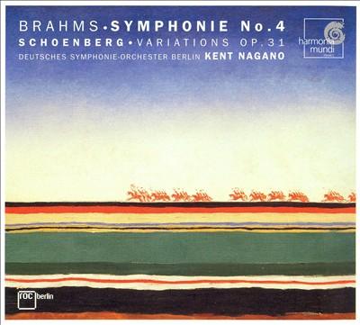 Brahms: Symphonie No. 4; Schoenberg: Variations