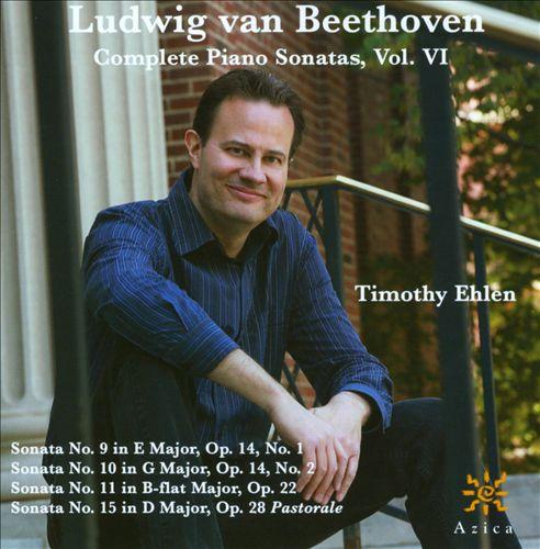 Ludwig van Beethoven: Complete Piano Sonatas, Vol. VI