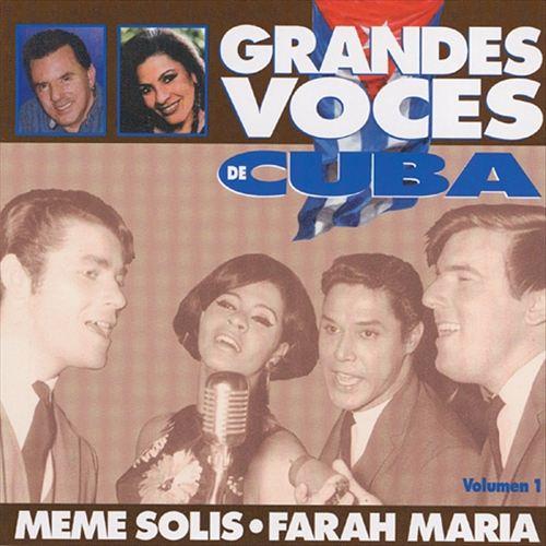 Grandes Voces De Cuba, Vol. 1