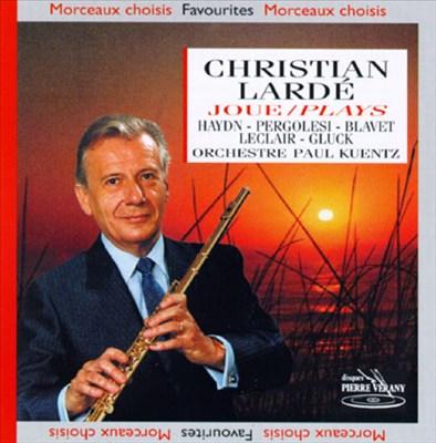 Christian Lardé plays Haydn, Pergolesi, Blave, LeClair & Gluck