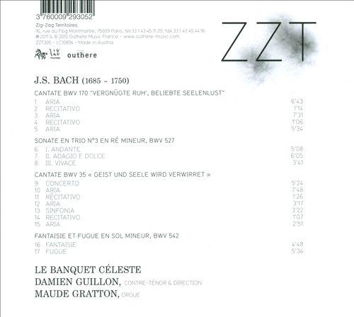 Bach: Cantates BWV 170 & 35