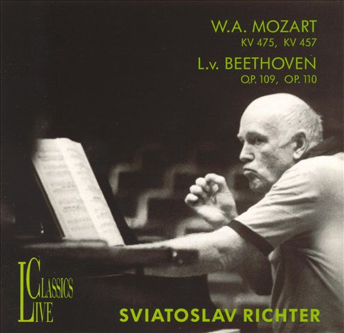 W.A. Mozart: KV 475; KV 457; L.v. Beethoven: Op. 109; Op. 110