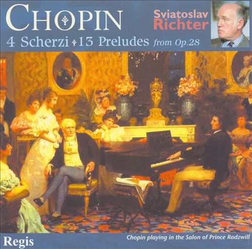 Chopin: 4 Scherzi & 13 Preludes from Op. 28
