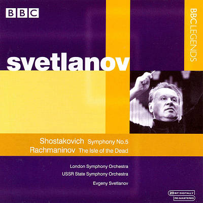 Shostakovich: Symphony No. 5; Rachmaninov: The Isle of the Dead