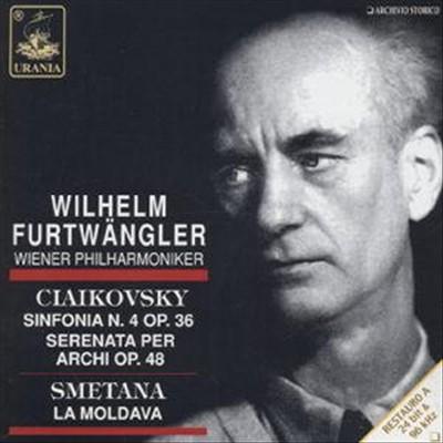 Ciaikovsky: Sinfonia n. 4 op. 36; Serenata per archi op. 48