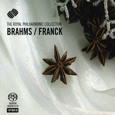 Brahms: Violin Sonata No.1; Franck: Violin Sonata In A Major [Hybrid SACD] [Germany]