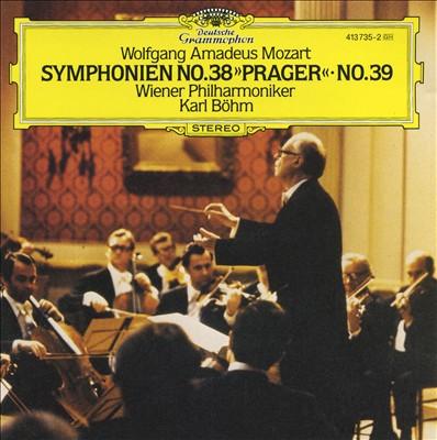 "Mozart: Symphonien Nos. 38 ""Prager"", No. 39"