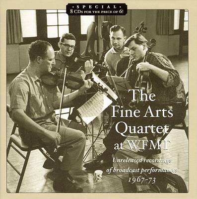 The Fine Arts Quartet at WFMT