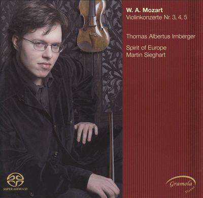 Mozart: Violonkonzerte Nr. 3, 4, 5