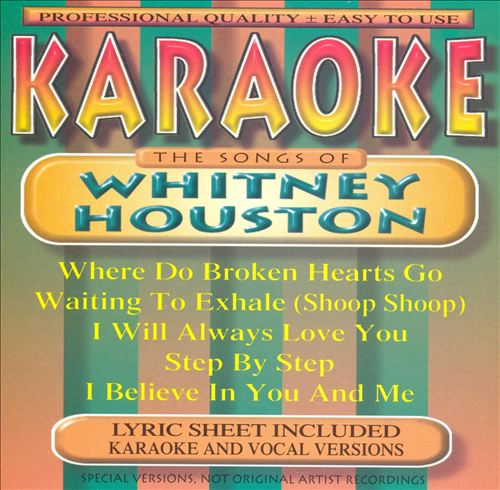 Songs By Whitney Houston