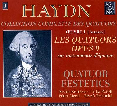 Haydn: Collection Complete des Quatuors, Vol. 1 - Les Quatuors Oeuvre 9