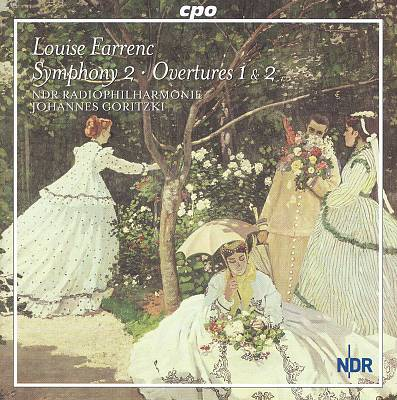 Louise Farrenc: Symphony No. 2; Overtures Nos. 1 & 2