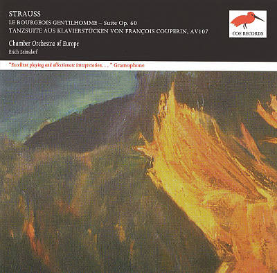 Strauss: Le Bourgeois Gentilhomme/Couperin-Tanzsuite