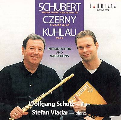 Introduction & Variations: Schubert, Czerny, Kuhlau