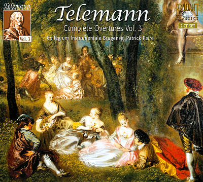 Telemann: Complete Overtures, Vol. 3