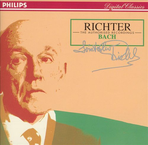 Richter - The Authorized Recordings: Bach