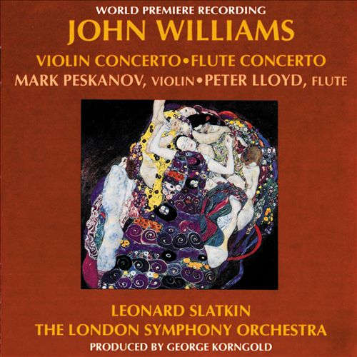 John Williams: Violin Concerto; Flute Concerto