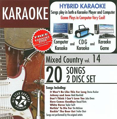 All Star Karaoke: Mixed Country, Vol. 14