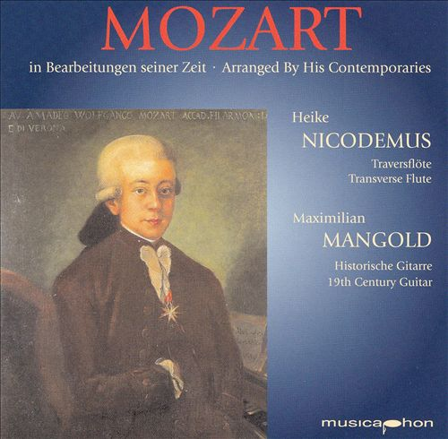 Mozart Arranged by His Contemporaries