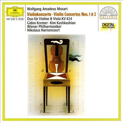 Wolfgang Amadeus Mozart: Violinkonzerte Nos. 1 & 2; Duo für Violine & Viola, KV 424