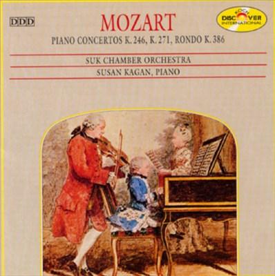 Mozart: Piano Concertos K.246, K.271, Rondon K.386