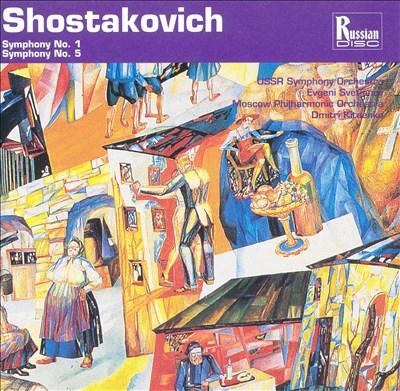 Shostakovich: Symphonies Nos. 1 & 5