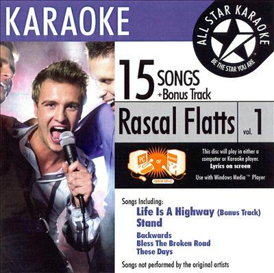 Karaoke: Rascal Flatts, Vol. 1