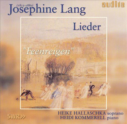 Josephine Lang: Lieder