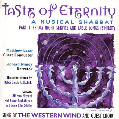 Taste of Eternity: Musical Shabbat, Vol. 1