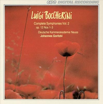 Boccherini: Complete Symphonies, Vol. 2