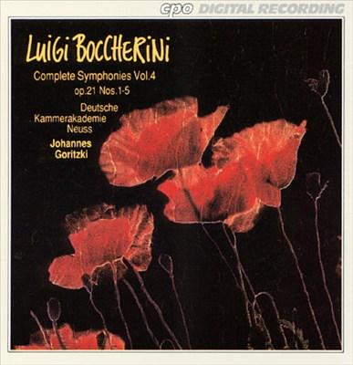 Boccherini: Complete Symphonies, Vol. 4