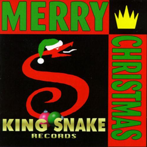 King Snake Merry Christmas